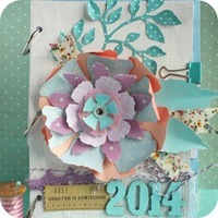 52- cafe creativo - big shot - Mini album - Jumbo Tattered Florals[6]