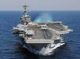 Tàu sân bay tấn công USS John C.Stennis.