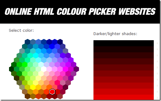 html  colour picker