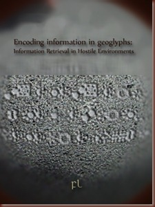 Encoding information in geoglyphs Cover