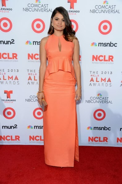 Melonie Diaz 2013 NCLR ALMA Awards Red Carpet VNIv1C2xF8ll