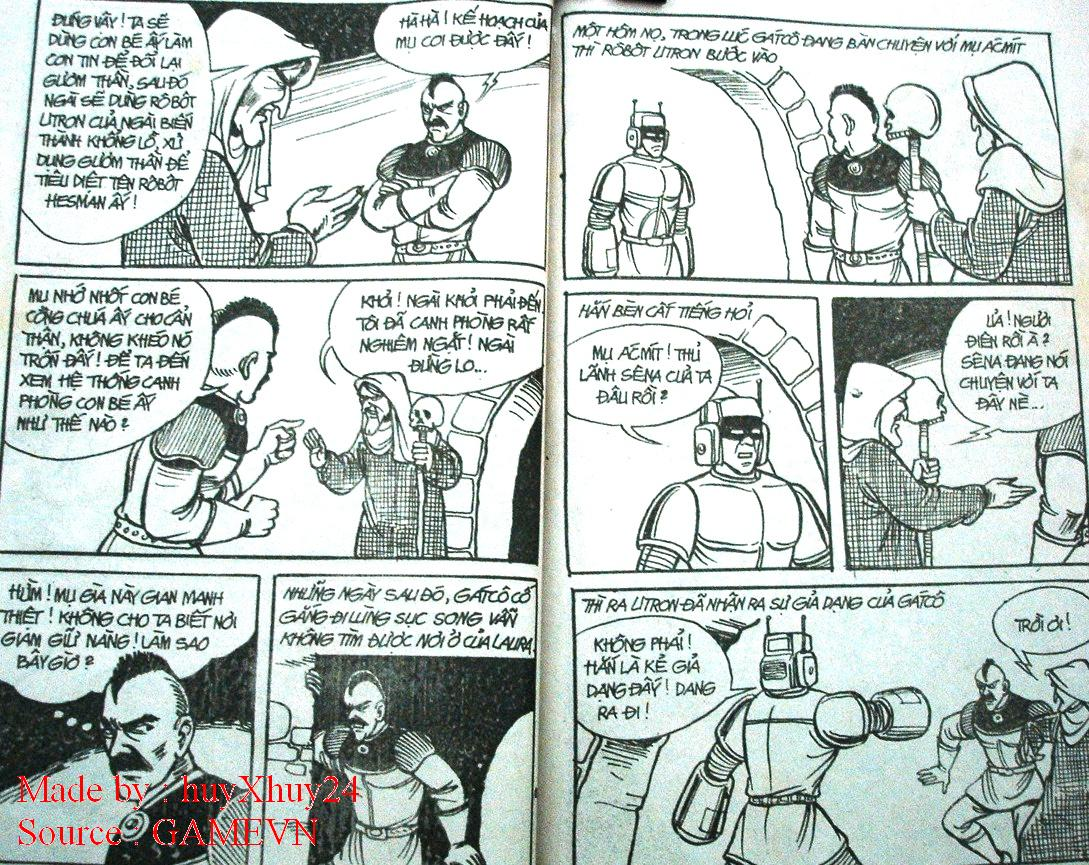 Dũng Sĩ Hesman chap 26 trang 18