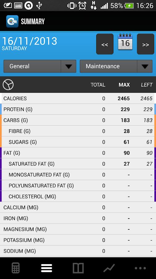 Cals & Macros FREE - screenshot