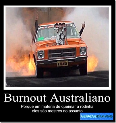 Burnout Australiano (1) By Kiko Molinari Originals