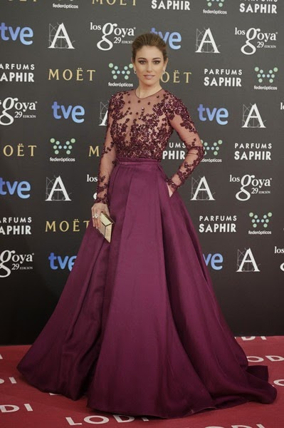 Blanca Suarez attends Goya Cinema Awards