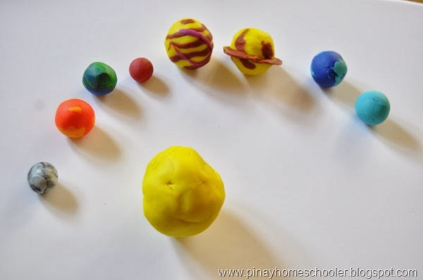 a solar system made of clay - photo #24