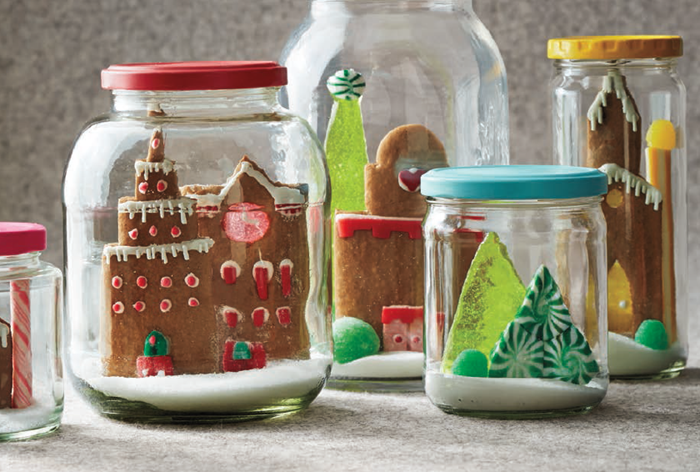 Cookie Snow Globes