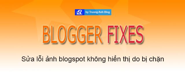 Sửa lỗi ảnh blogspot không hiện do bị chặn