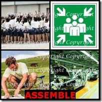 ASSEMBLE- 4 Pics 1 Word Answers 3 Letters