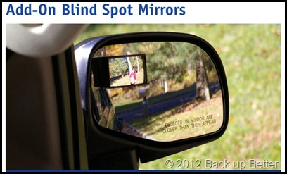 Add-On Blind Spot Mirror
