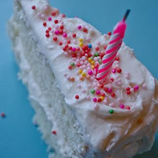 Vanilla Birthday Cake with Old-Fashioned Vanilla Buttercream