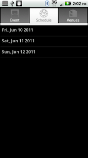 OpenSchedule for Android - screenshot thumbnail