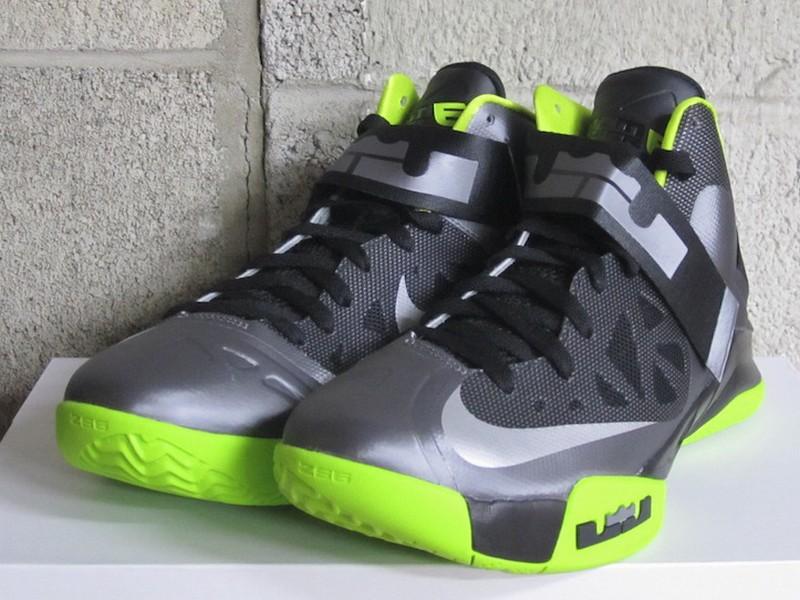 Hot Sale Online Nike Zoom Soldier VI 6 Blue Black White Lebron S