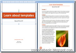 MS-Word 2007 template(combinebasic.com)