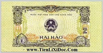 2 Hào Việt Nam Dân Chủ 1975