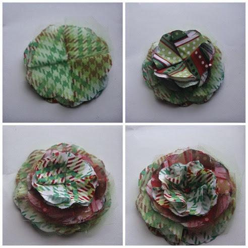 DIY Christmas Headband for a Baby Girl