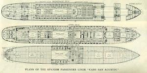 Planos del CABO SAN AGUSTIN. Grabado de la revista THE MOTOR SHIP. Año 1931.jpg