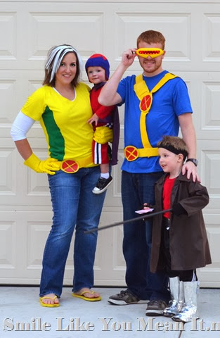 Rogue Magneto Cyclops Gambit Xmen character Costumes  sc 1 st  Smile Like You Mean it & Smile Like You Mean it: Halloweenu2014X Men Characters