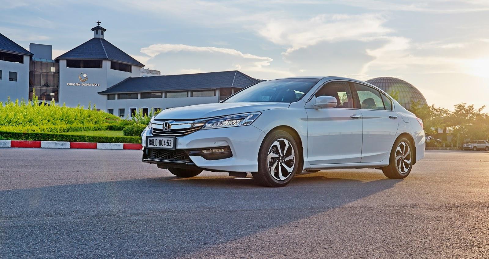 Đánh giá xe Honda Accord New Model 01