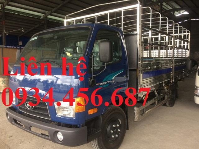Xe tải Hyundai HD110sl 7 tấn thùng bạt