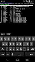Screenshot of TJTelnet