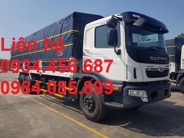daewoo maximus 15 tan thung bat