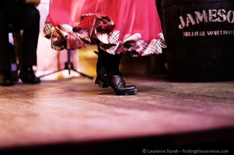 Irish dancer shoes Jameson barrel 2