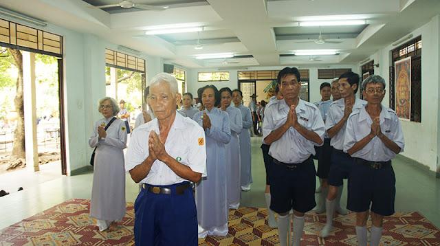 DSC06266 Lễ Hiệp kỵ   Lễ Huý Nhật Cư sĩ Sáng lập viên GĐPT Việt Nam   Tâm Minh Lê Đình Thám