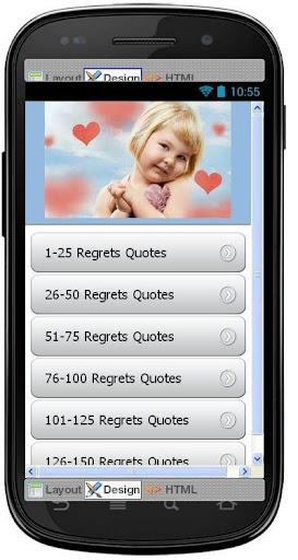 Best Regrets Quotes