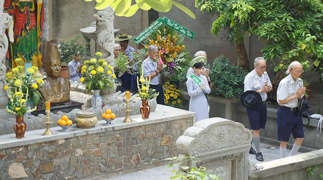 DSC06316 Lễ Hiệp kỵ   Lễ Huý Nhật Cư sĩ Sáng lập viên GĐPT Việt Nam   Tâm Minh Lê Đình Thám