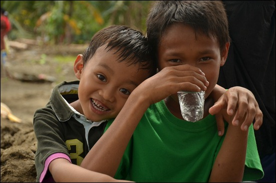 PUR treated riverwater drank by children (2)