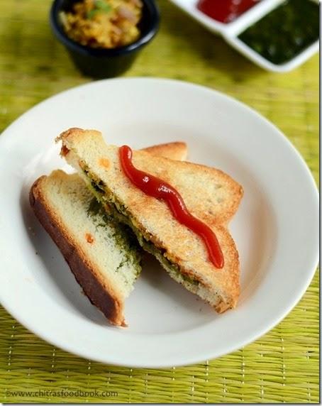 PANEER SANDWICH RECIPE KIDS LUNCH BOX RECIPES