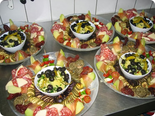 Antipasti, l'arte di decorare e presentare il piatto. | La cucina