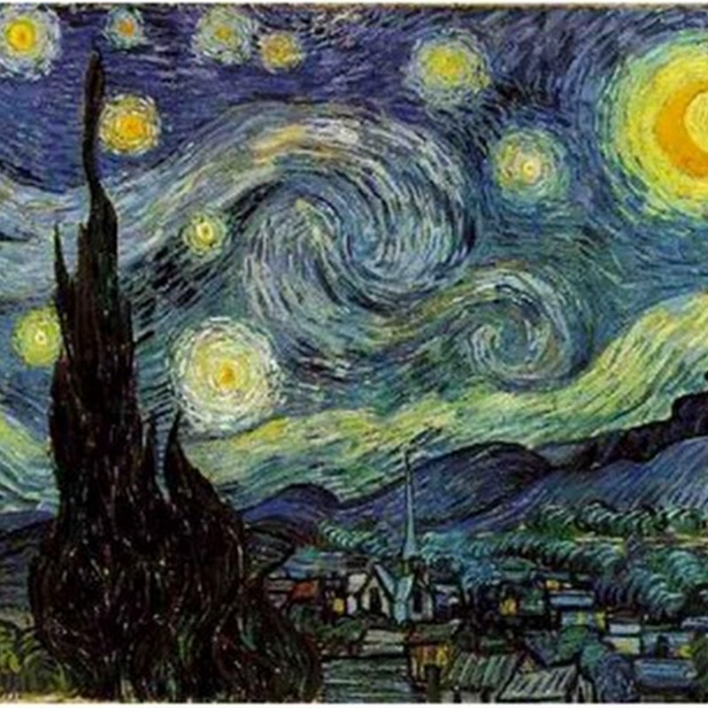 Starry Night - Painting by Vincent Van Gogh