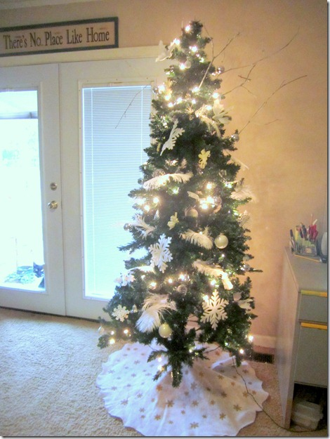 Christmas Tree White Decorations8