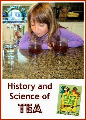 History and Science of Tea from Planet Smarty Pants www.planetsmarty.com