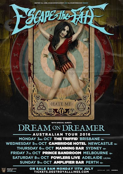 Tickets now on sale for Adelaide Saturday 8th October Fowlers Live Adelaide