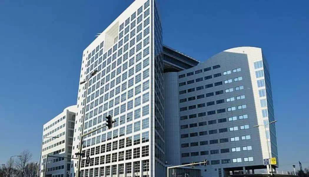 Trụ sở Tòa Án Hình Sự Quốc Tế tại La Haye, Hà Lan.