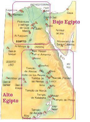 Mapa Del Antiguo Egipto.Mapa En General Liz Trujillo Puentes