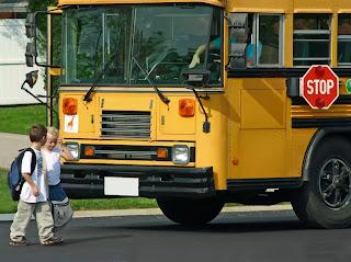 Xe buýt học đường ở Mỹ.