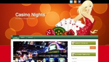 Casino nights blogger template 225x128