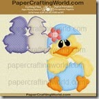 chicky shaped card ppr cf200