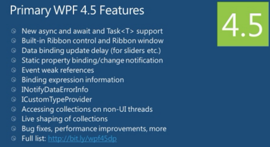 Jerry Nixon on Windows: Amazing  What's new in WPF 4 5?