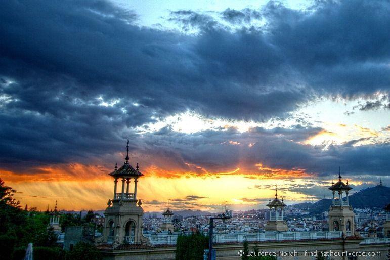 Barcelona sunset hdr edited 1
