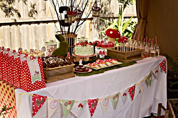 red riding hood bambi fawn dear forest woodland creatures party ideas party printables partyware party supplies desserts table birthday party supplies shop printables free buy05