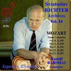 Mozart 27 Richter Barshai