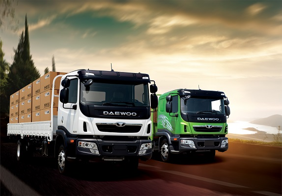 Xe tải Daewoo chính hãng