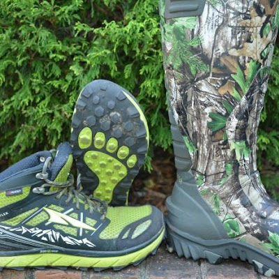 These rugged running shoes make a great hunting boot