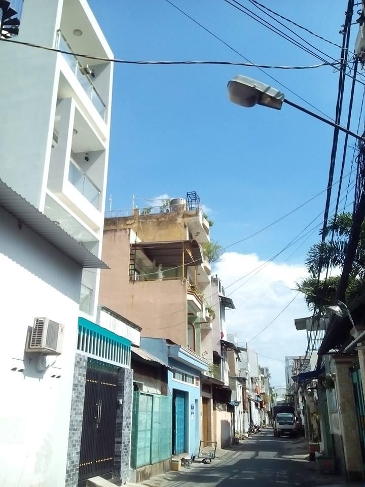 Bán nhà hẻm Quận Tân Phú 06