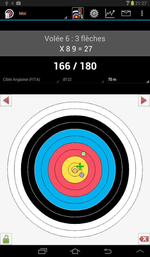 Archery Score Demo - screenshot